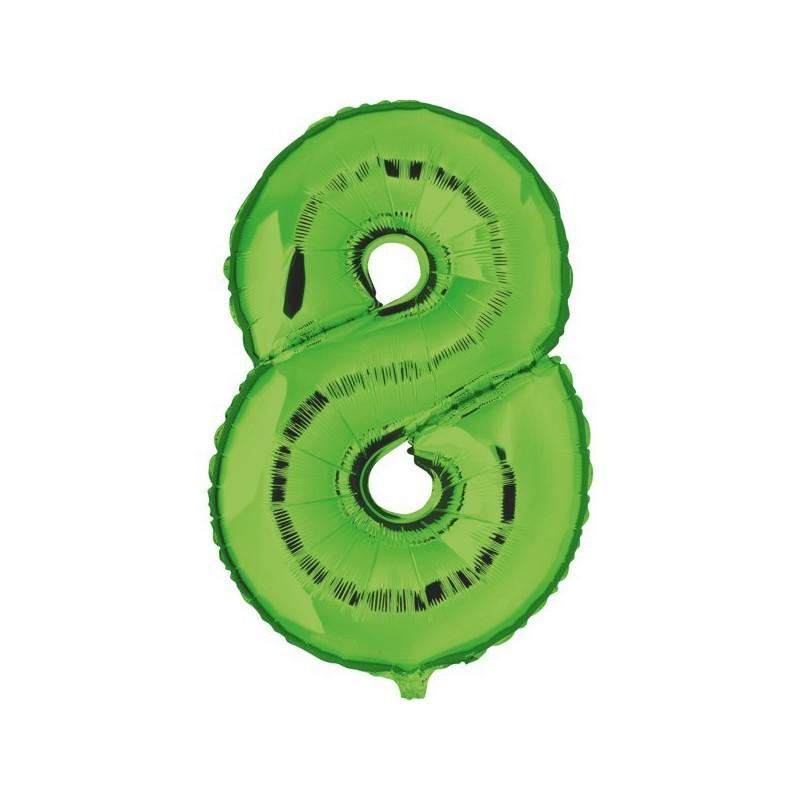 """Géant numéro vert/"""" 70/' Ballon Décoration"""