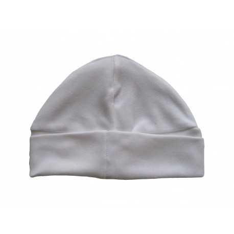 Bonnet blanc pour bébé