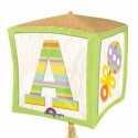 Ballon Hélium Cube 3D Baby Pastel