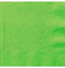 Serviettes Cocktail en Papier Vert