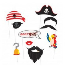 10 Accessoires Photobooth Anniversaire Pirate