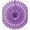 Rosace en Papier 40cm Violet Décoration de fête