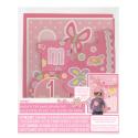 Kit Photobooth Mois par Mois - 12 mois Bébé Fille