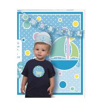 Kit Photobooth Mois par Mois - 12 mois Bébé Garçon