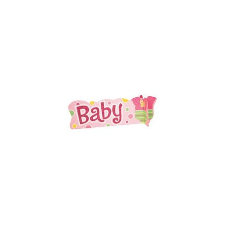 Centre de Table Baby Body Fille Déco Baby shower