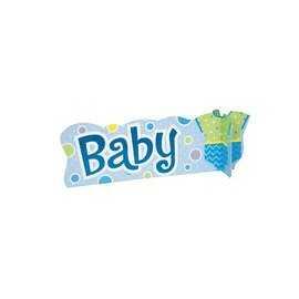 Centre de Table Baby Body Garçon Déco Baby shower