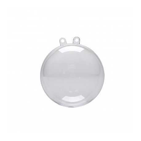 Boule Décorative Plexi Transparent à Suspendre 5cm