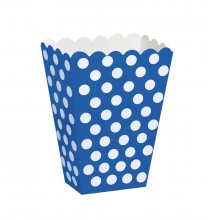 Boîtes A Pop Corn ou Bonbons Bleu Noir