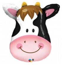 Ballon Géant Hélium Vache Animaux de la Ferme