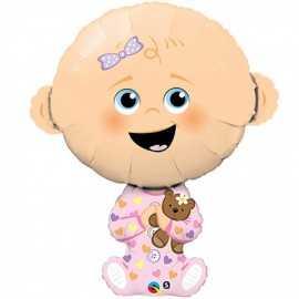 Ballon Géant Bébé Fille