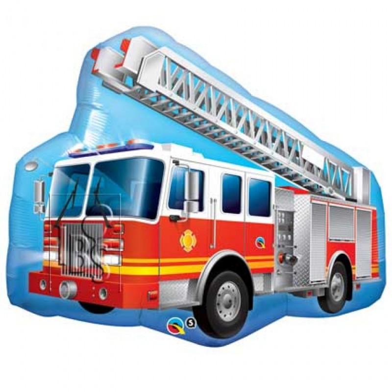 Favori Anniversaire Thème pompier collection déco de fête garçon  TT64
