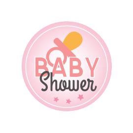 Magnet Flexible Baby Shower Rose