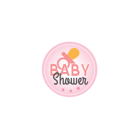 Magnet Flexible Baby Shower Rose