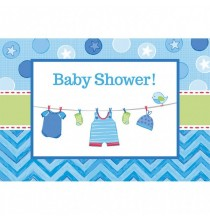Invitation Baby Shower bleue It's a Boy