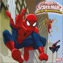 20 Serviettes en papier Spiderman Anniversaire