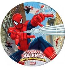 Assiettes Spiderman Anniversaire