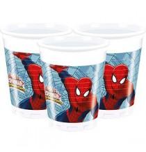 Gobelets Verres Spiderman Anniversaire