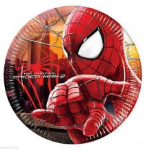 Grandes Assiettes Spiderman The Amazing Anniversaire