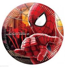 Grandes Assiettes Spiderman The Amazing Anniversaire