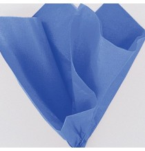 10 Feuilles Papier de Soie Bleu Royal