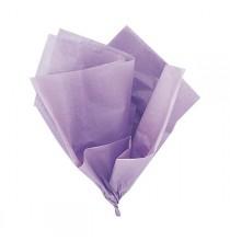 10 Feuilles Papier de Soie Parme