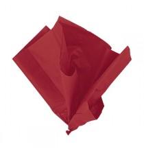 10 Feuilles Papier de Soie Rouge