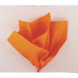 10 Feuilles Papier de Soie Orange