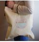 Tote Bag Parrain Qui Déchire - Sac coton naturel