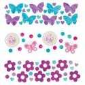 Trio de Confettis Baby Shower Papillons