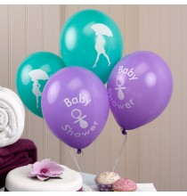 Ballons latex Baby Shower Future Maman