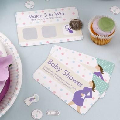 Cartes à Gratter Jeu Pour Anniversaire Ou Baby Shower Future Maman