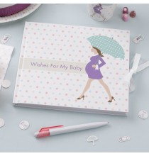 Livre d'or Baby Shower Future Maman
