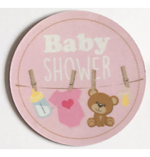 Magnet Flexible Baby Shower Rose Guirlande Bébé