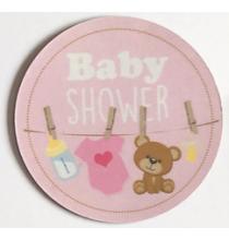 Magnet Flexible Baby Shower Rose Guirlande Bébé