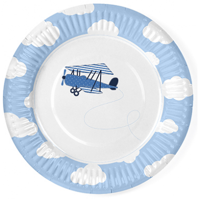 Assiettes Petit Avion