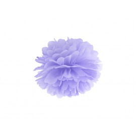 Pompon Papier de Soie 25cm Lilas Parme Décoration de Fête