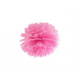 Pompon Papier de Soie 25cm Rose Décoration de Fête