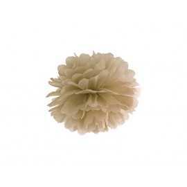 Pompon Or Doré 25cm Décoration de Fête Papier de soie