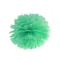 Pompon Papier de Soie 25cm Vert Pastel Décoration de Fête