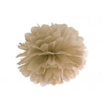 Pompon Caramel 25cm Décoration de Fête Papier de soie
