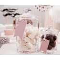 Etiquettes Fanions candy bar Sweets I love choco & sweets