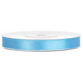 Ruban Satin Bleu Clair 25m