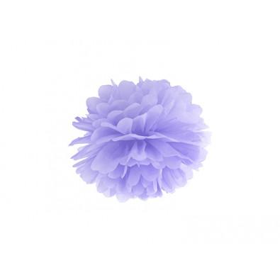 Pompon Papier de Soie 35cm Parme Lilas Décoration de Fête