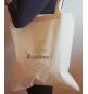 Tote Bag C'est mon Baptême Baby - Sac coton naturel tissu