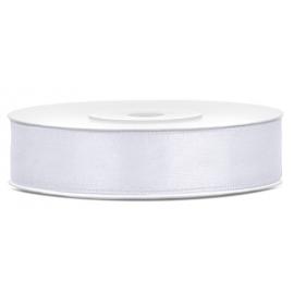 Bobine Ruban Satin Blanc 12mm
