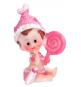 Figurine Bébé Fille Ballon Coeur