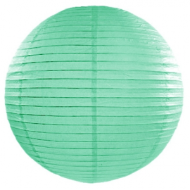 lanterne boule de papier vert pastel mint 20cm pour d coration de f te. Black Bedroom Furniture Sets. Home Design Ideas