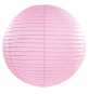 Boule de Papier Rose Pastel Lanterne 20 cm Décoration