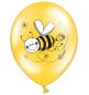 6 Ballons Latex Anniversaire Abeilles Premium