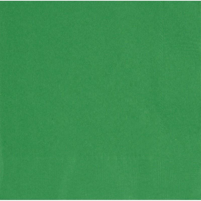 20 grandes serviettes en papier vert pour l 39 organisation de votre f te. Black Bedroom Furniture Sets. Home Design Ideas